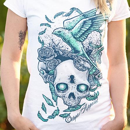 Swallow Girlie Shirt