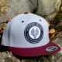 01_logo_snapback_heathergrey-maroon